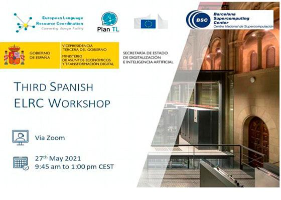 1millionbot participa en el Third Spanish ELRC Workshop de IA para la Administración Pública y Pymes