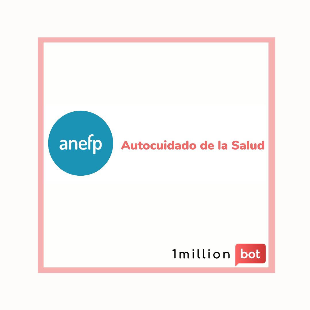 1millionbot participa en la II Semana Digital de la Asociación para el autocuidado de la salud (Anefp)