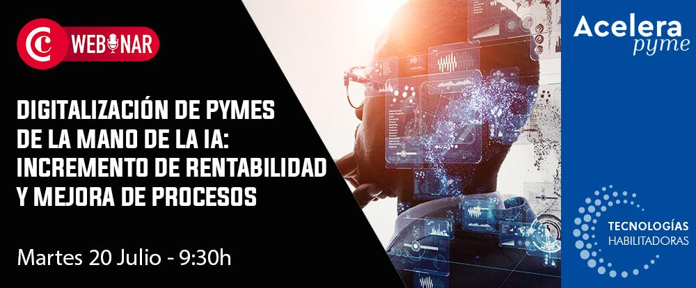 1millionbot protagoniza un nuevo webinar de la Cámara de Comercio de Alicante sobre digitalización de pymes de la mano de la Inteligencia Artificial