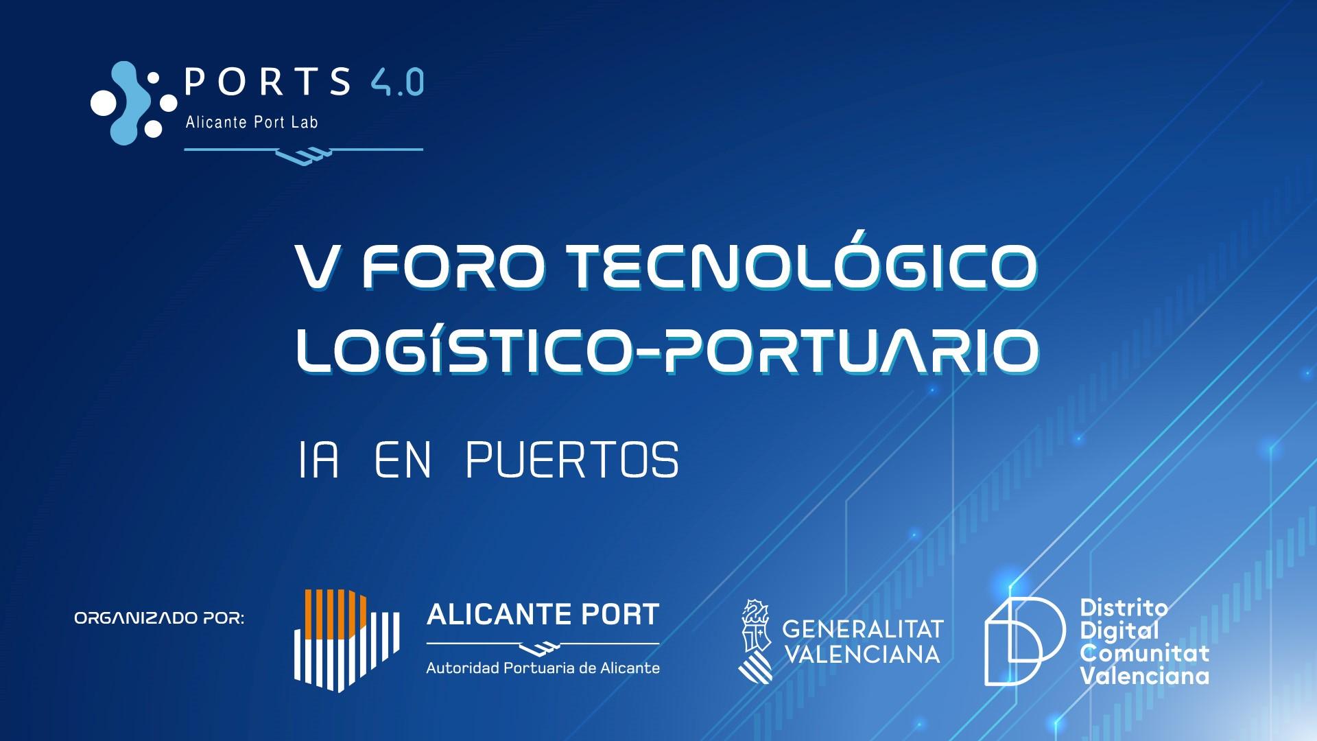 1millionbot participa el 14 de julio en el V Foro de Inteligencia Artificial en puertos organizado por la Autoridad Portuaria de Alicante y Distrito Digital
