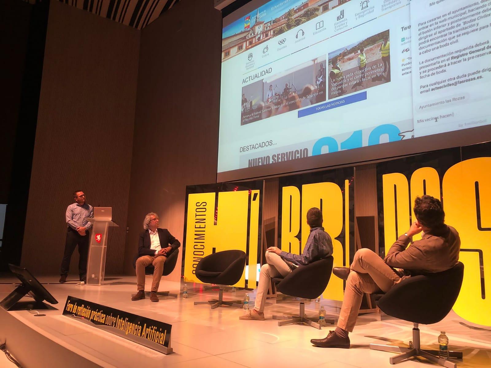 1millionbot demuestra en Zaragoza las posibilidades reales de la Inteligencia Artificial para las Smart Cities