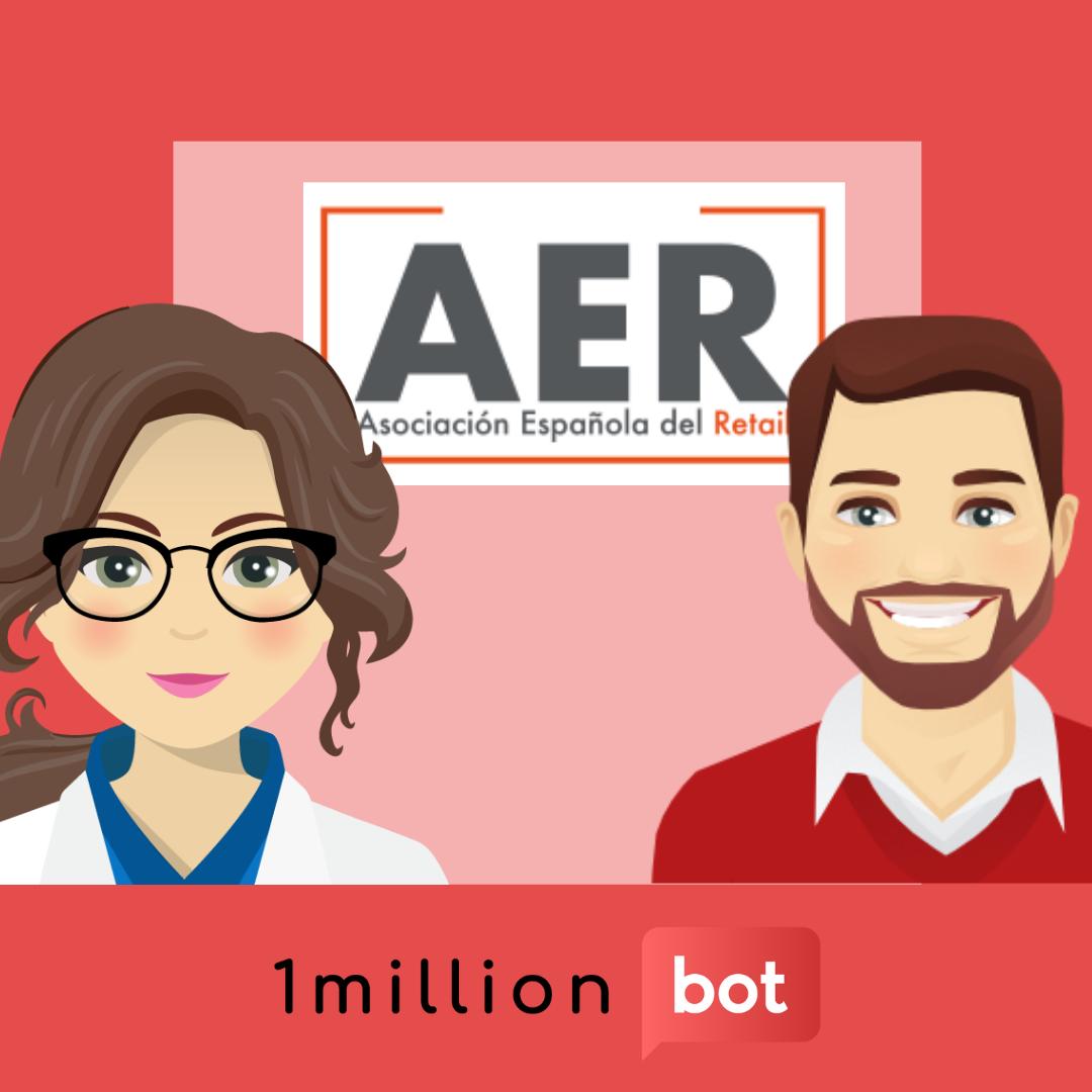 1millionbot participa en la mesa redonda sobre tecnología inclusiva organizada por la Asociación Española de Retail (AER)