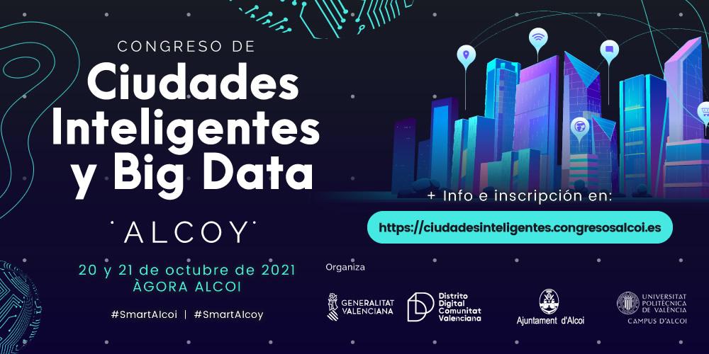 1millionbot participa en el I Congreso de Ciudades Inteligentes y Big Data de Alcoy el 20 y 21 de octubre